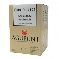 AGUJAS PUNCIÓN SECA 0.25X25 con GUIA 100uds