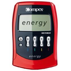 Electroestimulador Compex Energy Mi Ready - Ems + Tens 4 canales con sensor incluido de regalo