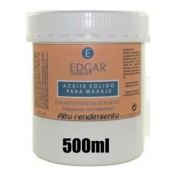 ACEITE SOLIDO DE ROMERO PARA MASAJE 500ML